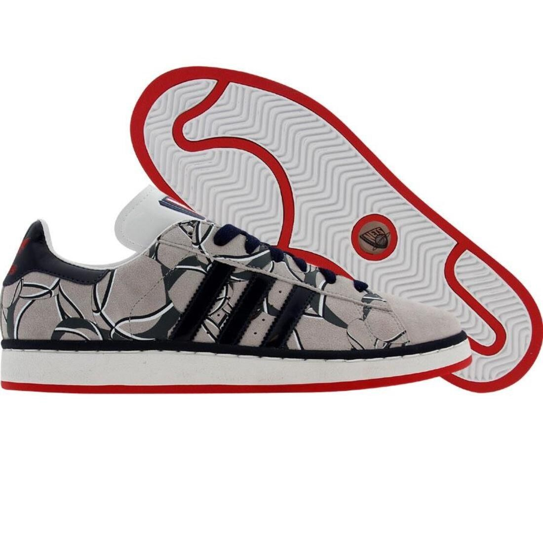 64.99 Adidas Campus II 2 - New Jersey Nets (sigrnb   pannba   redsld) 044350