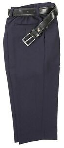 Boys-Dark-Navy-Blue-Formal-Pants-slacks-set-complete-with-faux-leather-belt