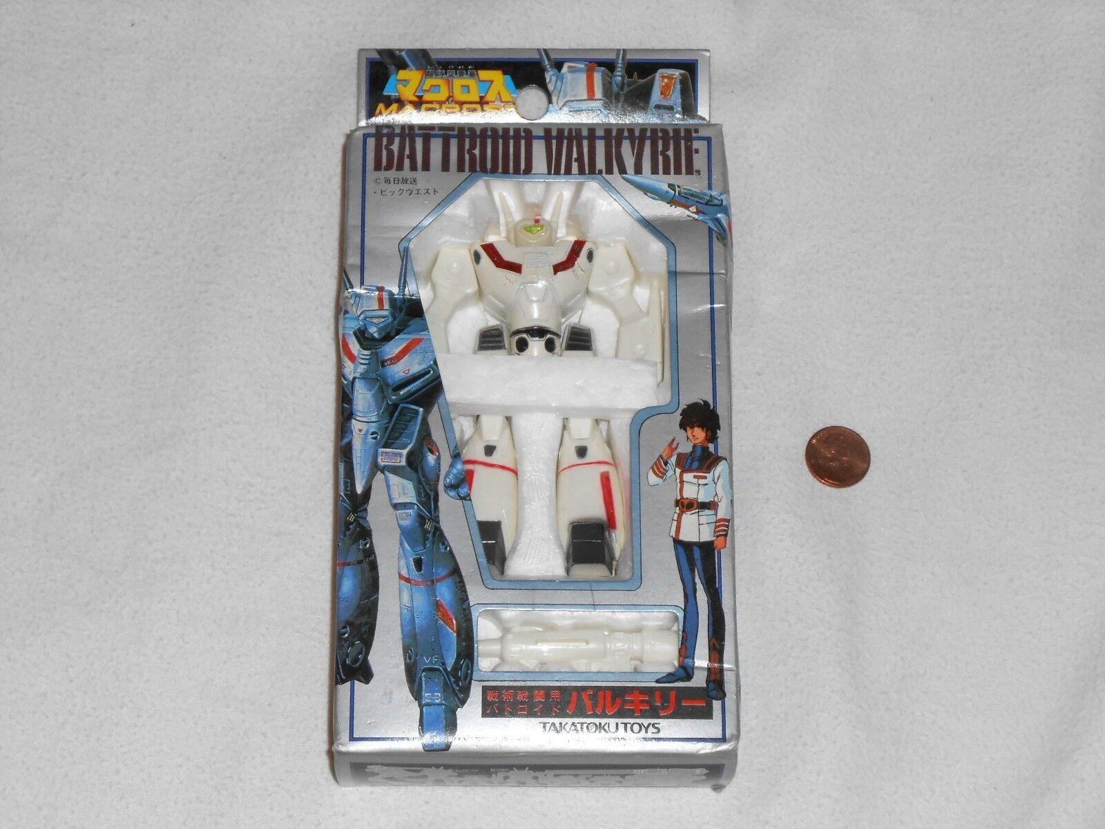NEW Macross BATTROID VALKYRIE VF-1J Figure Takatoku Toys 4.5  Japan Robotech