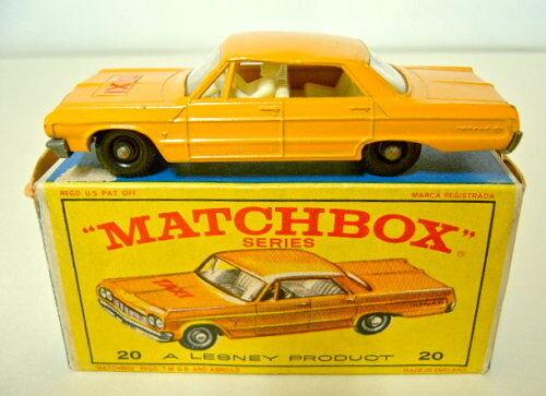 Matchbox RW 20c Chevrolet taxi blancoos fuertemente.  taxi  pegatinas en Box