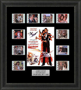 James-Bond-Octopussy-1983-Framed-35mm-Film-Cell-Memorabilia-Filmcells-Movie-Cell