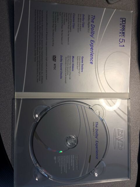 The Dolby Digital Experience 5.1 Surround Sound Demo Disc  Perfect Condition.