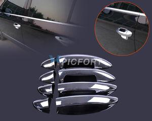 Chrome-Door-Handle-Cover-Trim-for-VW-PASSAT-B6-3C-2007-2009-amp-CC-2009-2012-2011