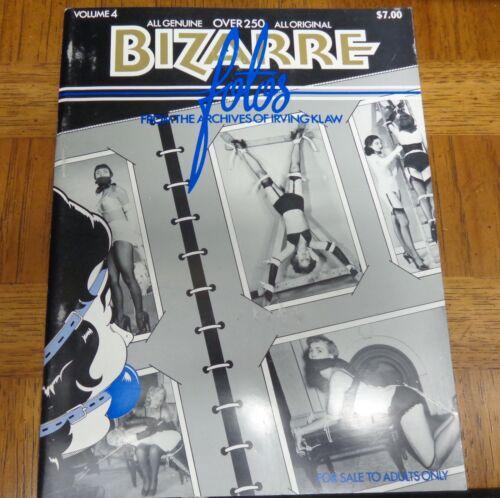 Bizarre Fotos Volume 4 The Archives of Irving Klaw Erotic Photography//Bondage