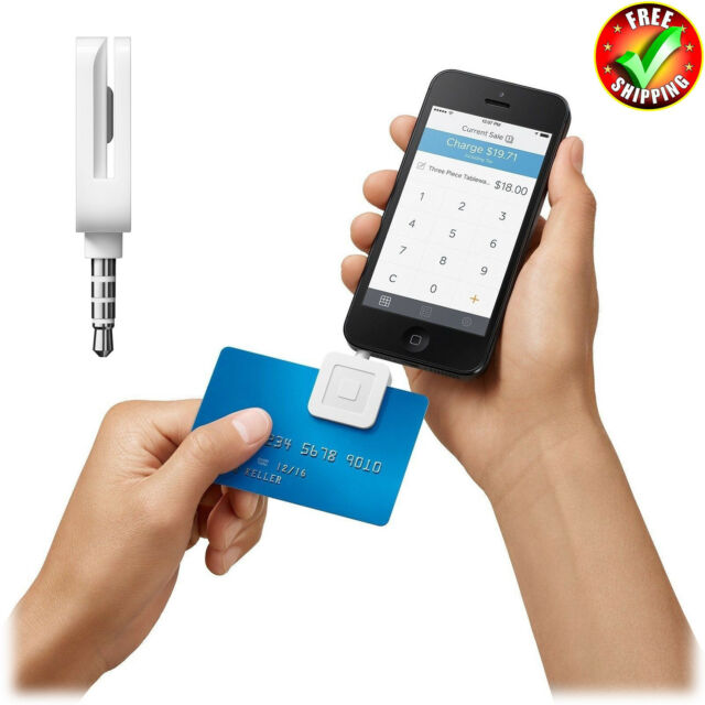 Credit Business Card Reader For Iphone Ipad And Android Square Ebay