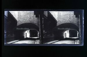 Francia Ville A Identificare Foto Stereo L8n9 Vintage Placca Da Lente Negativo