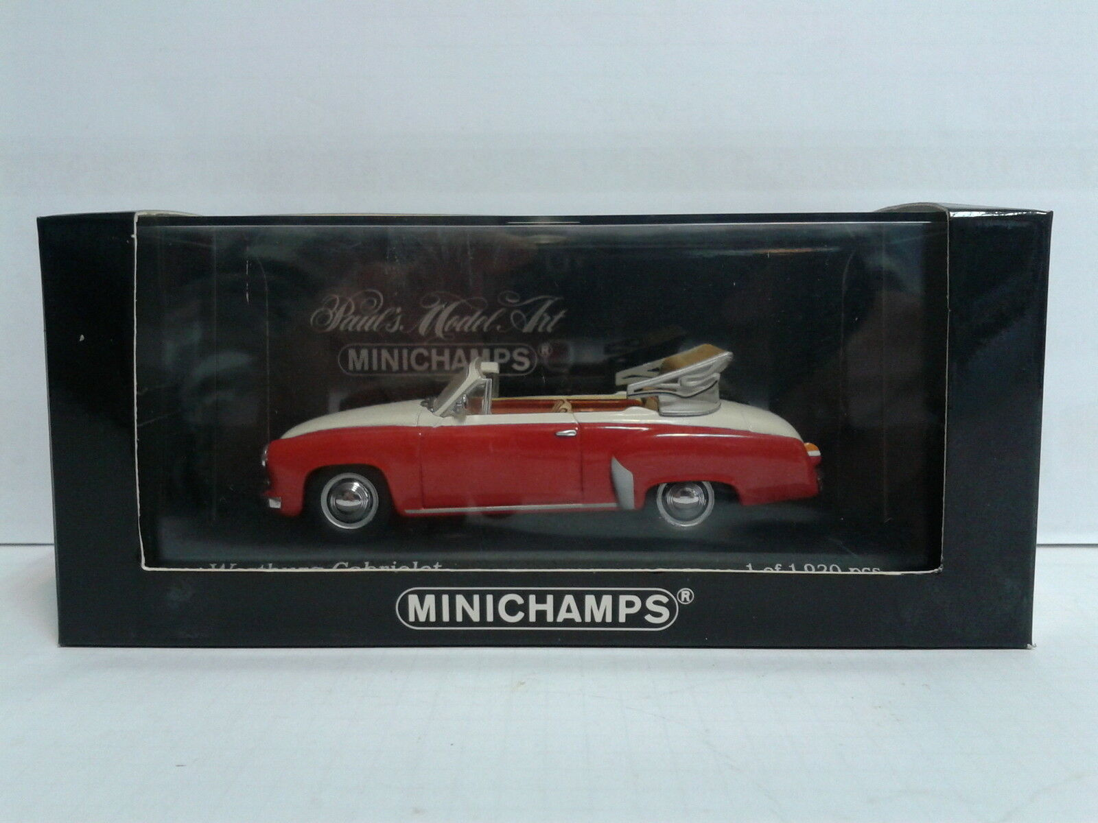 Minichamps 1 43 Wartburg Cabriolet Limited Edition 1 of 1.920 MIB OVP
