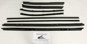 1972 1974 Buick Lesabre 2 Door Hardtop Window Felt Beltline Weatherstrip Set 8pc Ebay