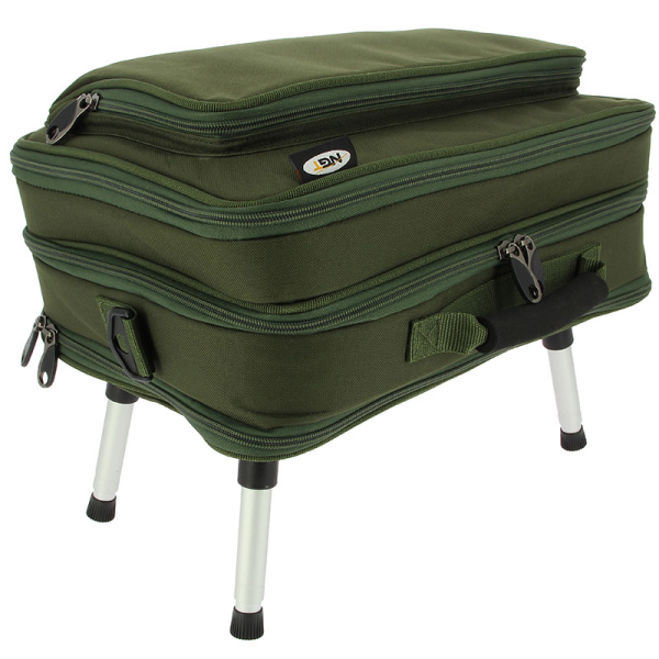 XXL Carryall inkl. Tackle Box & Bivvy Table, Angeltasche Rigstation Compact