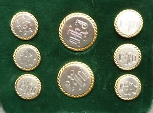 A-set-of-925-silver-buttons-in-excellent-condition-initials-DKJ-with-splitpins