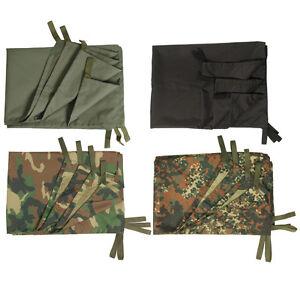 Multipurpose-Army-Tarp-BW-Plane-Awning-Rain-Protection-Emergency-Tent-NEW