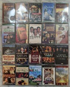 Lot of 20 Various Gaither Family Cassette Tapes - Bill & Gloria Gaither - Gospel