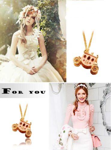 Nice Women Girl Crystal Green Eye Vintage Necklace Charm Pendant Long Chain