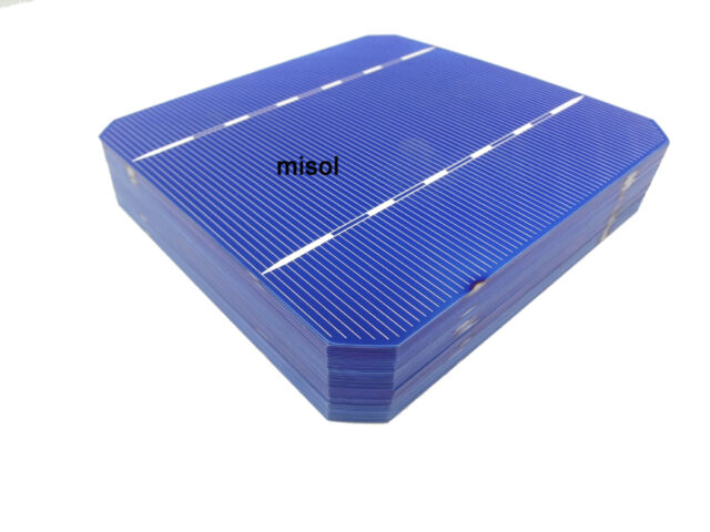 10 pcs of Mono Solar Cell 5x5 2.8w, GRADE A, monocrystalline cell, DIY solar