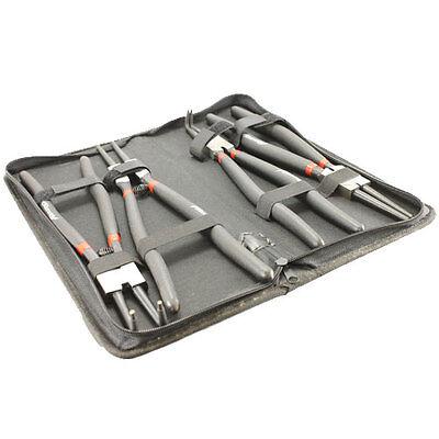 4 Piece 13inch 325mm Circlip Snap Ring Pliers Set Case Mechanics Workshop Tools