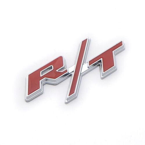 New 3D alloy Red Logo Trunk Badge Sticker Emblem