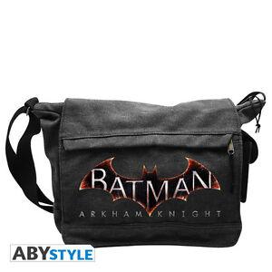 Batman-Arkham-Knight-Umhaengetasche-NEU-amp-OVP
