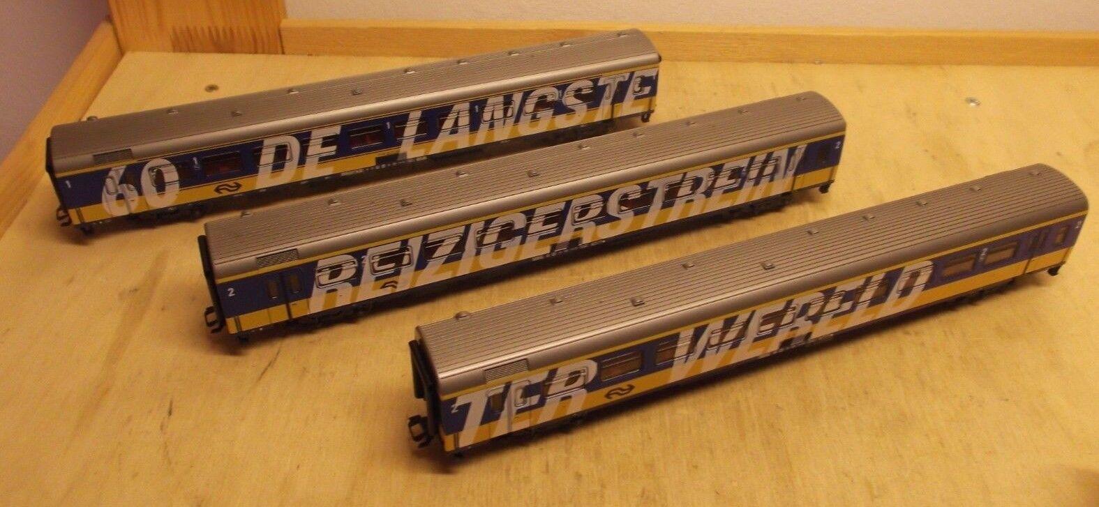 Märklin H0 4391 Car Set   the Longest Passenger Train of World   3 Ic Venture NS