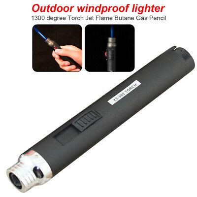 1300℃ Welding Soldering Pen Torch Butane Gas Fue Jet flame Refillable Lighter L