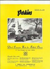 BEDFORD 'O' SERIES WITH PERKINS DIESEL CONVERSION SALES BROCHURE 1952 1953