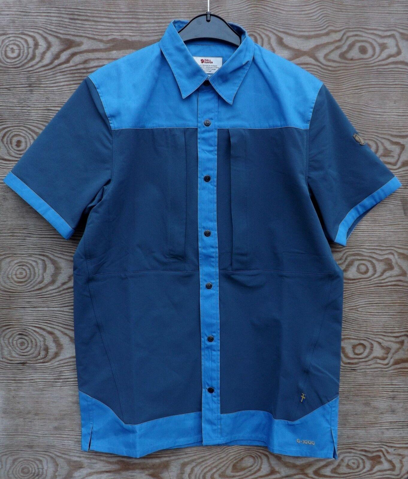 Fjäll Räven Keb  Trek Camisa De Hombre, UN bluee, G-1000 con Inserciones stretch  online-shop