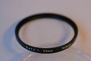 Nikon-52mm-Soft-1-Filter-in-Excellent-Cond