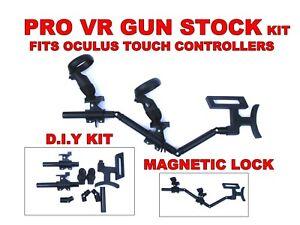 Vr Gun Stock Pro Fits Oculus Quest And Rift S Touch Controllers Pavlov Gunstock Ebay