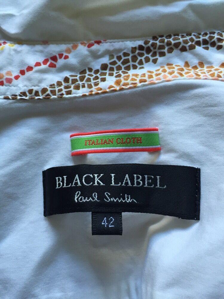 f092a35530f4 Donna Paul nero Label Bianco Camicia con I Dettagli RRP Taglia 42 Smith  Formale nveriq4759-T-shirt