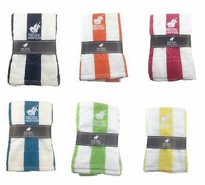 Image Is Loading Lot Of 6 Pacific Polo Club 100 Cotton