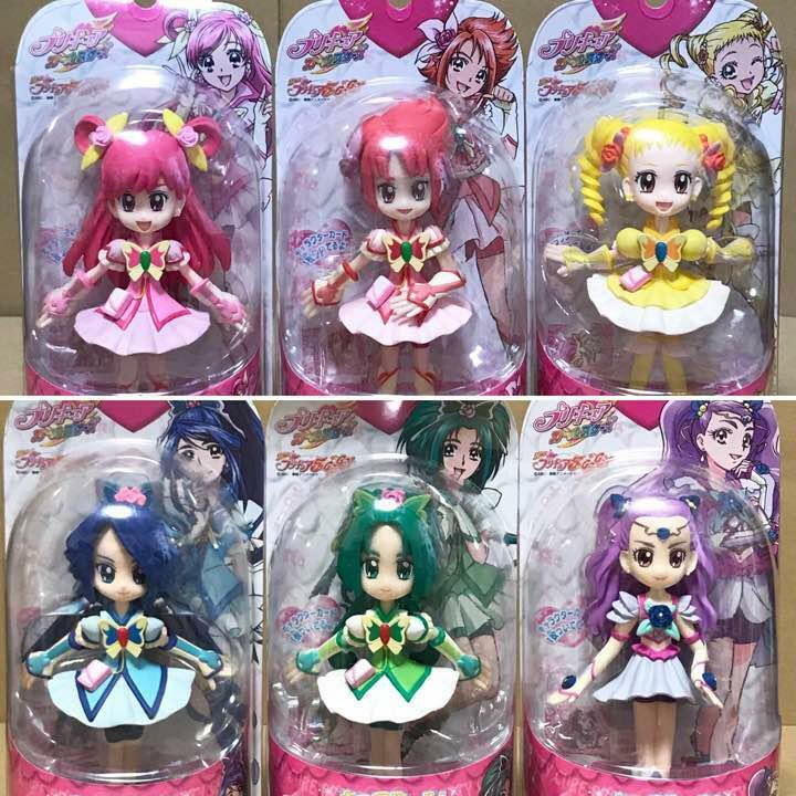 Yes Pretty Cure 5GoGo Cure Doll  Pre cure All Stars 06-11 Set of 6 From Japan