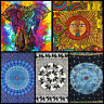 Indian Tapestry Wall Hanging Mandala Elephant Large Hippie Throw Bedspread Cover