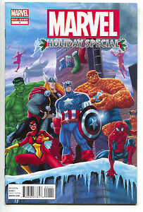 Marvel-Holiday-Special-1-One-Shot-2011-FN-Spider-Man-Hulk-Thor-Captain-America