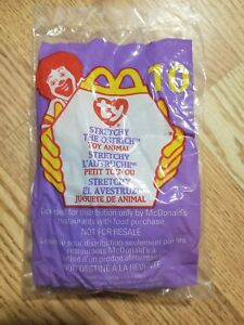 1999-MCDONALDS-HAPPY-MEAL-TOY-TY-Beanie-Baby-034-Stretchy-the-Ostrich-034-NIP