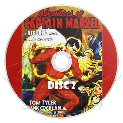 Adventures Of Captain Marvel 1941 Republic Movie Serial