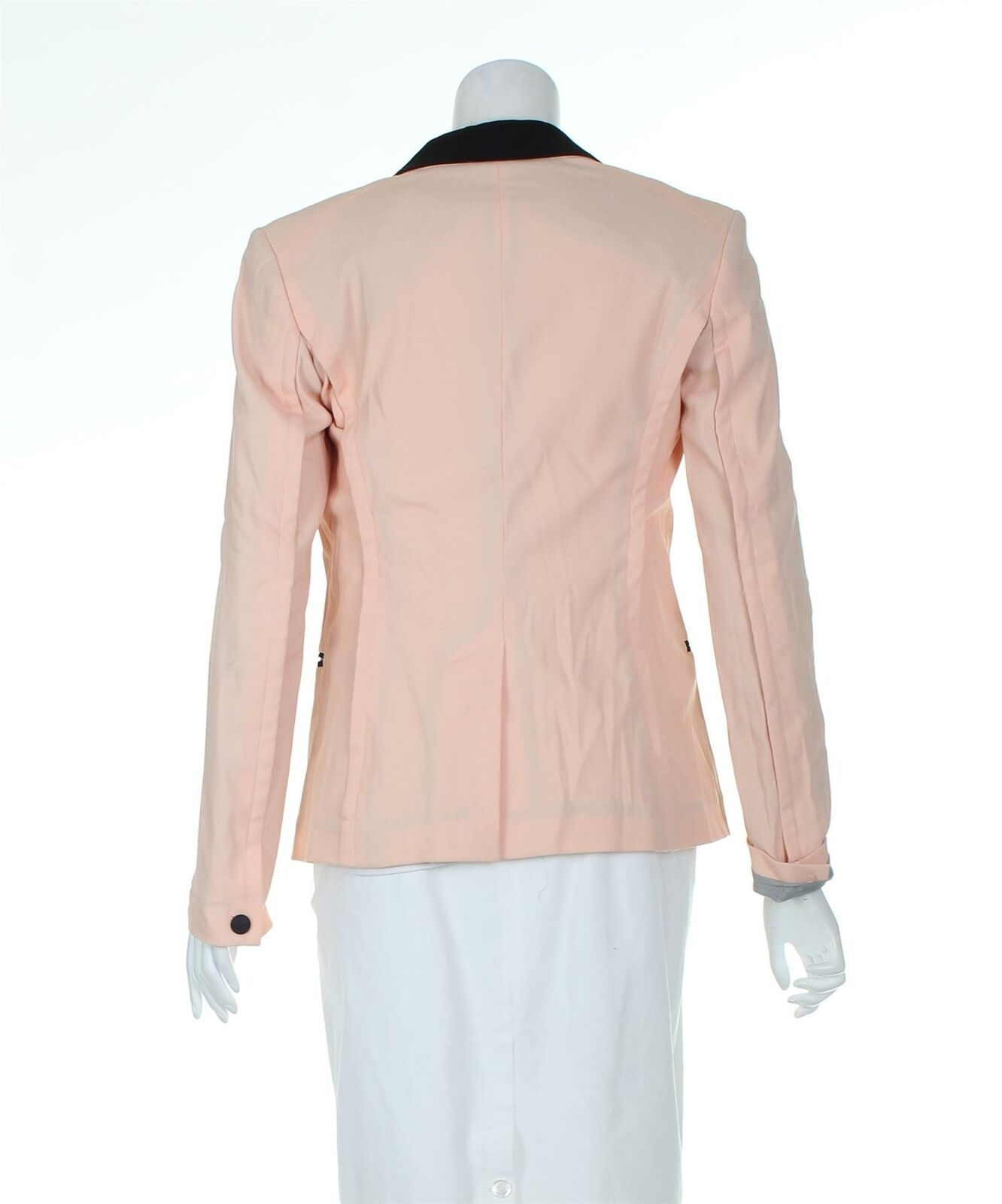 RAG & BONE Pink And Black Blazer Jacket, UK 6 US … - image 3