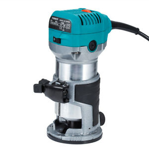 Electric-Hand-Trimmer-Palm-Router-Wood-Laminate-Joiners-Tool-710W-Variable-Speed