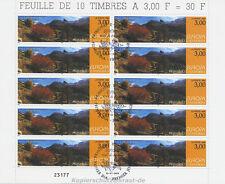 EUROPA CEPT 1999 NATURPARKS - ANDORRA FRANZÖSISCH 535 KLEINBOGEN gestempelt