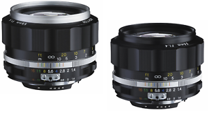 New-Model-VOIGTLANDER-NOKTON-58mm-f1-4-SL-II-S-BLACK-or-SILVER-Nikon-AIS-Lens
