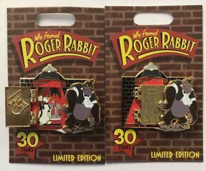 Disneyland-Disney-Parks-Who-Framed-Roger-Rabbit-30-Years-Jessica-amp-Bongo-LE-Pin