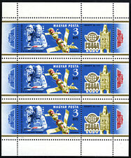 Hungary C409 M/S, MNH.Vladimir Remek postmarking mail on board Salyut 6, 1978