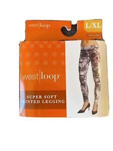 Super Soft Leopard Print Leggings LXL
