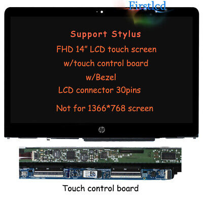 UHD HP Pavilion x360 15T-BL100 15T-BL000 15-BL062NR LCD Touch Screen Replacement