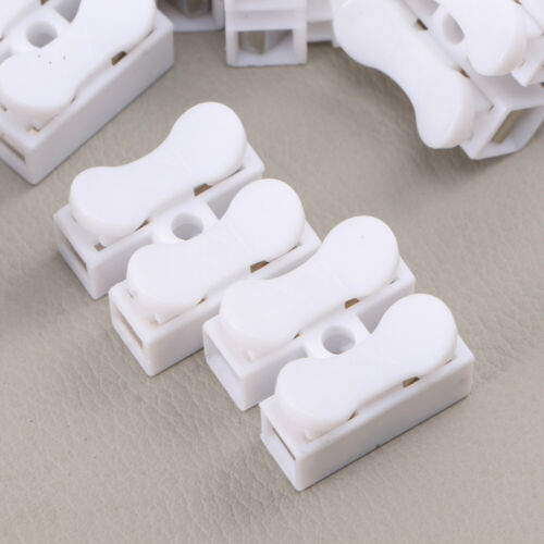 50PCS//Set Connector CH-2 Wire Connect Spring Connector for Instrument