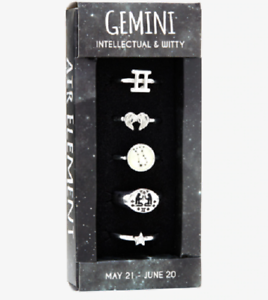 ZODIAC-RING-SET-OF-5-RINGS-PICK-YOUR-ZODIAC-SIGN-GEMINI-PISCES-SIZE-7-MORE