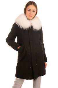 RRP-4350-MR-amp-MRS-ITALY-Parka-Jacket-Size-XS-Fox-amp-Raccoon-Fur-Inside-amp-Trim