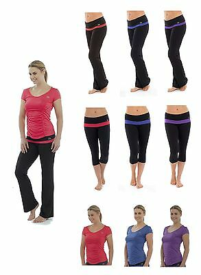 Ladies Yoga / Fitness / Aerobic / Gym Clothing ~ Pants, Top, Cropped Bottoms