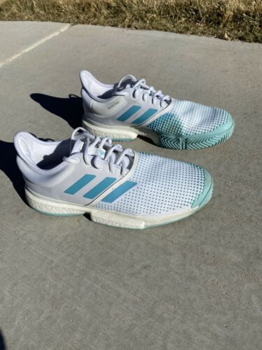 Adidas Solecourt Boost Parley Mens Tennis Shoes 10
