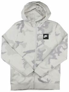 Zip Gray Details Youth Hoodie Grey About Jacket Camouflage Aq5772 Camo White Nike 072 Full vwnmON80