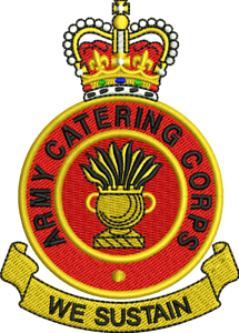 ARMY CATERING CORP Crested Embroidered Fleeces