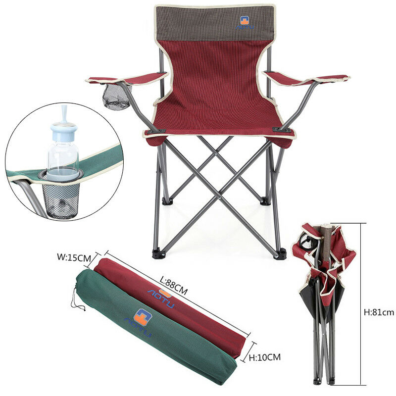 Outdoor Portable Fishing Camping Chair Seat Cup Holder Beach  Picnic Folding Bag  we offer various famous brand